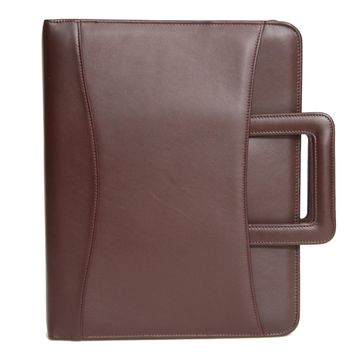 Royce Leather 'Jefferson' Zip Around Binder Genuine Leather Portfolio