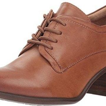 Sofft Womens Patience Leather Closed Toe Oxfords