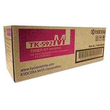 Kyocera TK592M Toner 5 000 Page-Yield Magenta