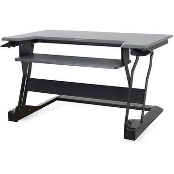 Ergotron, Workfit-T, Sit-Stand Desktop Workstation (White), 1 Each