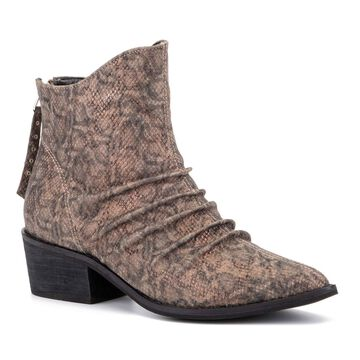Olivia Miller Take A Bow Women's Ankle Boots