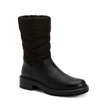 Aquatalia Women's Lori Weatherproof Tech Nylon & Leather Boots
