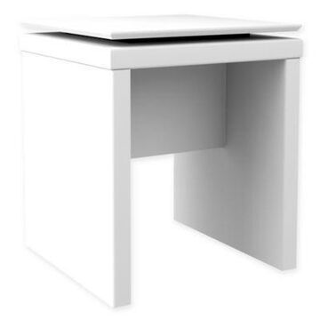 Manhattan Comfort Lincoln Square End Table White