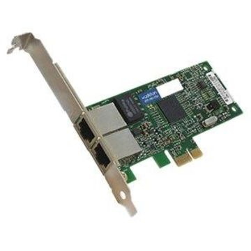 AddOn 10/100/1000Mbs Dual Open RJ-45 Port 100m PCIe x4 Network Interface Card - Cost effectively add additional ports and connectivity