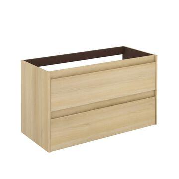 WS Bath Collections Ambra 40-in Nordic Oak Bathroom Vanity Cabinet in Brown   AMBRA 100 NO BASE