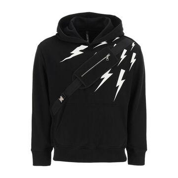 Neil Barrett Sweatshirt With Pouch Application