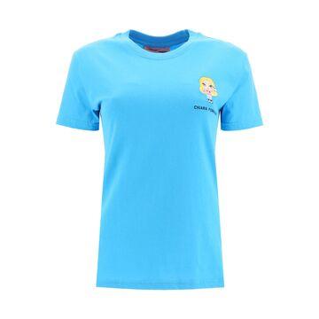Chiara Ferragni T-shirt Cfmascotte Embroidery