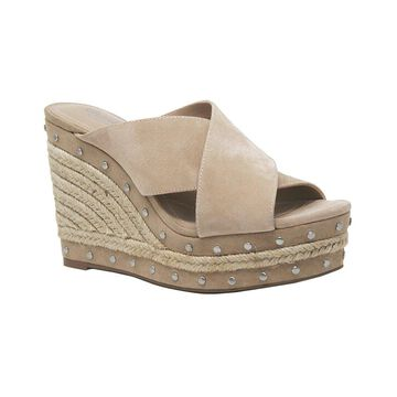 Charles By Charles David Leilani Suede Wedge Sandal