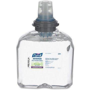 PURELL TFX Green Certified Instant Hand Sanitizer Foam Refill, 1200 mL, Clear -GOJ539102EA