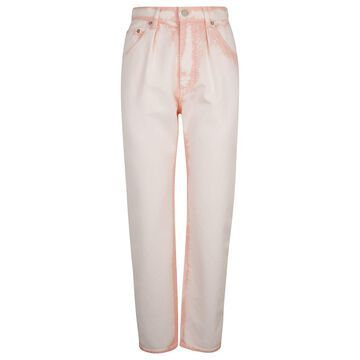 Alberta Ferretti Rear Patched Bleach Jeans