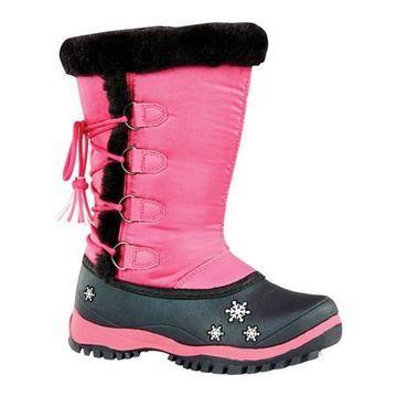 Baffin Girls' Mia Snow Boot Youth Fuchsia