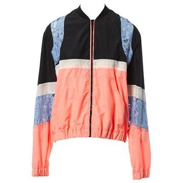 Msgm Pink Viscose Jackets