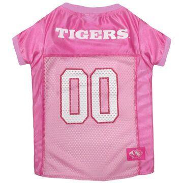 Pets First Missouri Tigers Pink Jersey, X-Small