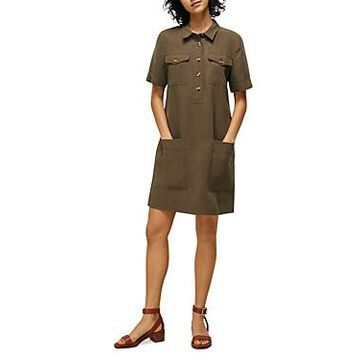 Whistles Relaxed Shirt Dress