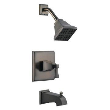 Design House 522037 Single Handle Pressure Balanced Tub & Shower Valve