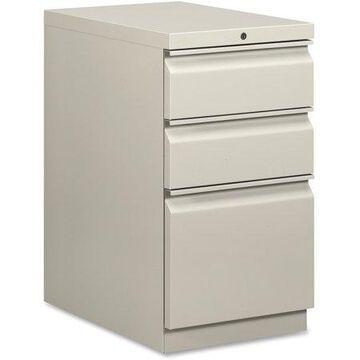 HON 3 Drawers Vertical Lockable Filing Cabinet, Gray