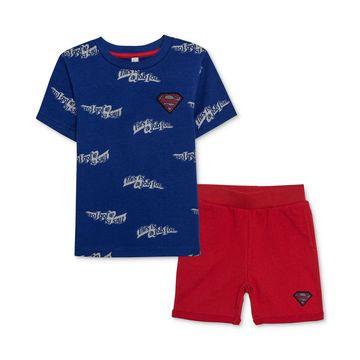 Superman Little Boys T-Shirt & Shorts Set