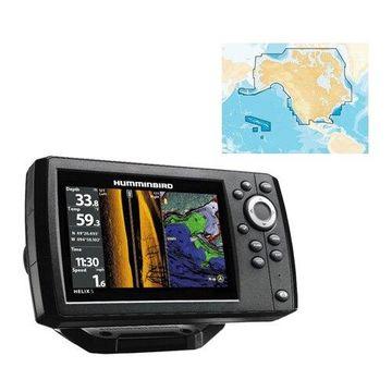 Humminbird 410260-1 Helix 5 CHIRP GPS G2 PT Fishfinder w/ 5 Color TFT Display