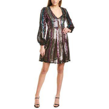Aidan Mattox Womens Mini Dress