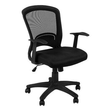 Monarch Mesh Mid-Back Office Chair, Black