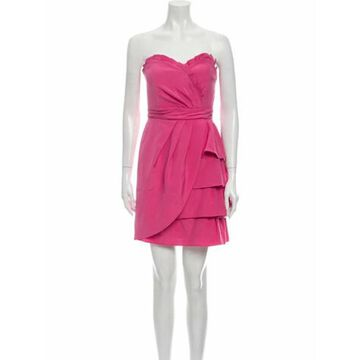 Strapless Mini Dress w/ Tags Pink