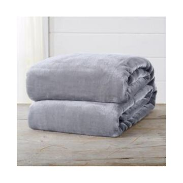 Home Fashions Designs Marlo Collection Ultra Plush Solid King Bed Blanket Bedding