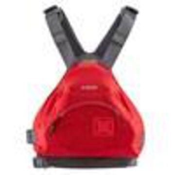 NRS Ninja Adult Small Medium PFD Type III Boating Kayak Life Jacket Vest, Red