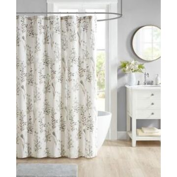 "Jla Home Twyla 72""x 72"" Shower Curtain Bedding"