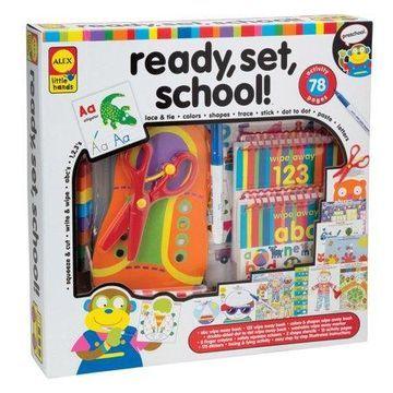 ALEX Toys Little Hands Ready, Set, School