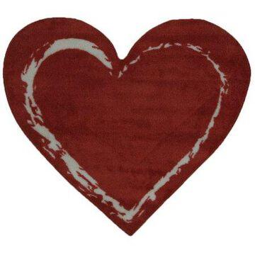 Fun Rugs Red Heart 35
