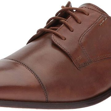 Bostonian Mens 26137322 Leather Lace Up Casual Oxfords