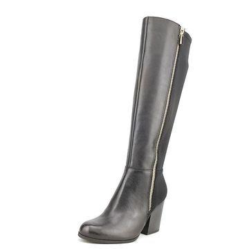 Giani Bernini Womens Rozario Leather Almond Toe Knee High