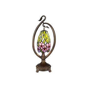 Dale Tiffany Grove Floral Accent Desk Lamp