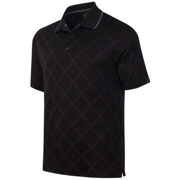 Greg Norman Mens Diamond Performance Rugby Polo Shirt