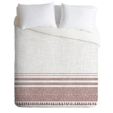 Holli Zollinger Geometric Duvet Set - Deny Designs