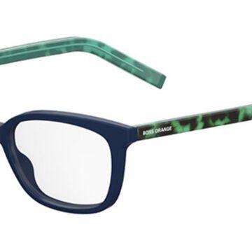 Boss Orange BO 0257 2PH Womenas Glasses Blue Size 53 - Free Lenses - HSA/FSA Insurance - Blue Light Block Available