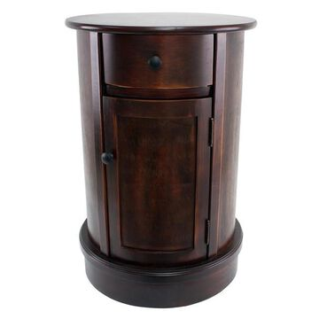 Decor Therapy Round End Table