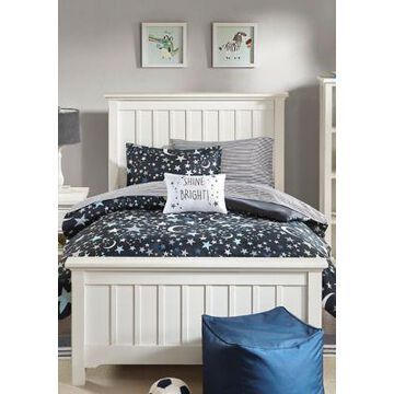 Jla Home Starry Night Complete Bed And Sheet Set - -