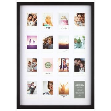 16 Opening Black Instax Collage Frame by Studio Decor