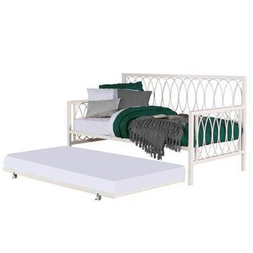 Hillsdale Furniture Naomi Twin Daybed with Trundle, White