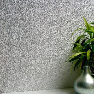 Brewster Anaglypta 56.4-sq ft Paintable Vinyl Paintable Textured Brushstroke 3D Unpasted Wallpaper in White   437-RD100