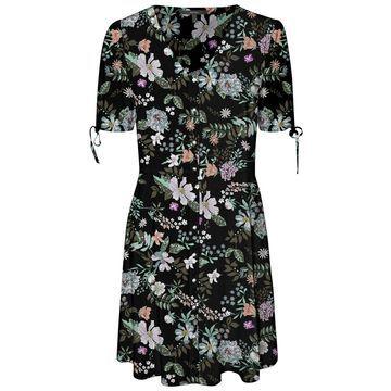 **Vero Moda Multi Coloured Floral Print Skater Dress