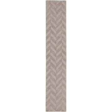 Artistic Weavers Central Park Carrie 2-Foot 3-Inch x 14-Foot Runner in Grey