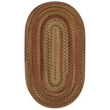 Capel Homecoming Oval Braid 5' x 8' Area Rug