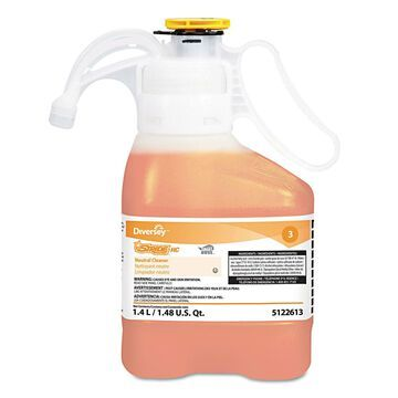 Diversey Stride Neutral Cleaner Citrus Scent 1.4 mL 2 Bottles/Carton 95122613