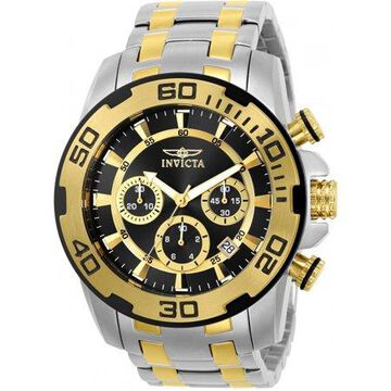 Invicta Men's Pro Diver 22322 Silver Stainless-Steel Japanese Chronograph Dress Watch