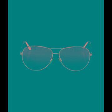 Charles Aviator Sunglasses Silver