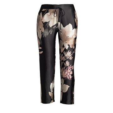 Josie Natori Deco Silk Pants