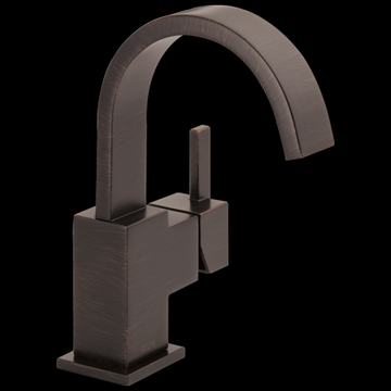 Delta Vero Single Handle Bathroom Faucet, Venetian Bronze