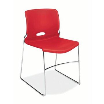 HON Olson High-Density Stacking Chair, Set of 4, in Cherry (H4041)